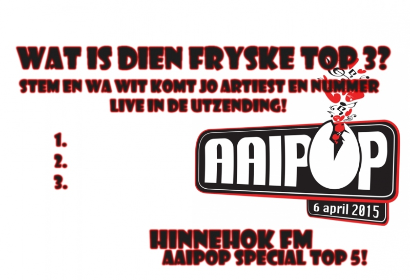 6 april Hinnehok FM Aaipop Special!!
