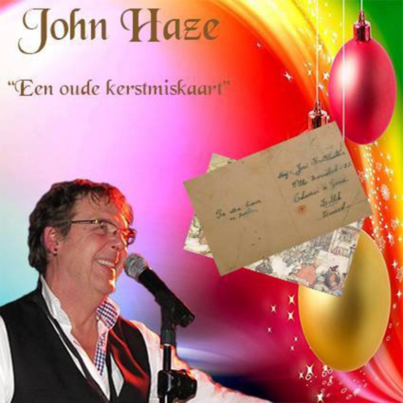 John Haze zingt over een oude kerstmiskaart