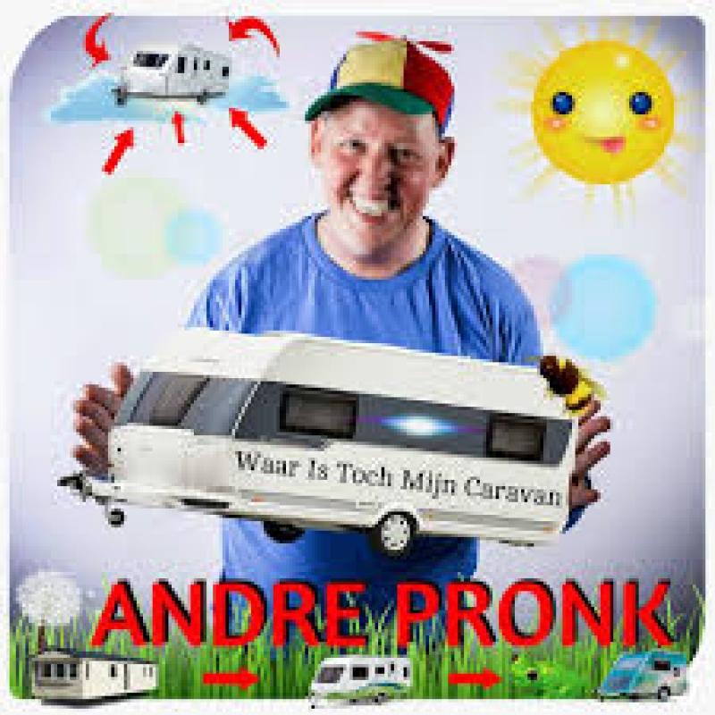 Andre Pronk - Waar is toch mijn caravan ( Nieuwe single )